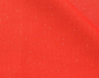 Double Knit Fabric / Double Knit / Doubleknit / Red Double Knit / Polyester Knit / 1970s Fabric / Retro Fabric