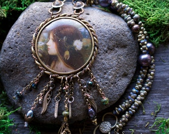 Victorian Tribal/Handmade Necklace