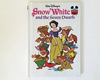 Walt Disney's Snow White and the Seven Dwarfs, Disney's Wonderful World of Reading, Random House Grolier Book Club, 1973, Children's Book