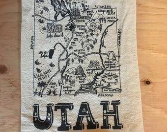 Utah Teatowel
