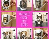 Custom Hand Painted Mug