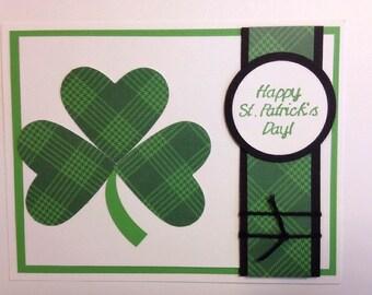 Stampin' Up! Plaid Shamrock St. Patrick's Day Card Kit