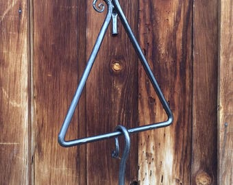 "Dinner Bell Triangle, 1/2"" Steel"