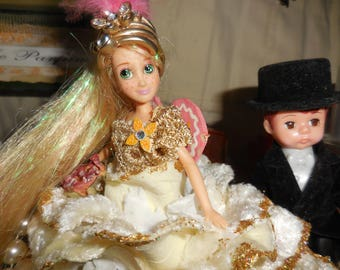 Doll Assemblage Rapunzel Rapunzel Let Down Your Hair Your Prince Is Here