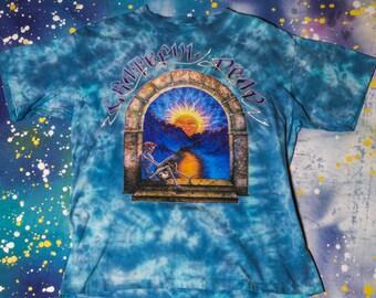 GRATEFUL DEAD Madison Square Garden Tie Dye Hippie T-Shirt Size Xl