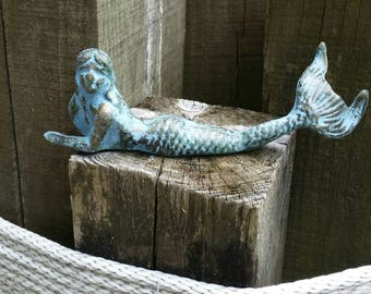 Superior Cast Iron Mermaid   Outdoor Garden Decoration, Beach Decor, Nautical  Wedding, Little Mermaid
