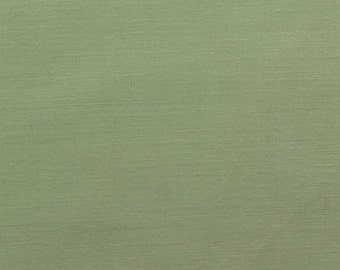 60 Inch Poly Cotton Broadcloth Sage Fabric by the yard - 1 Yard