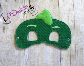 Gekko Inspired Childrens Dress Up Mask for Kids