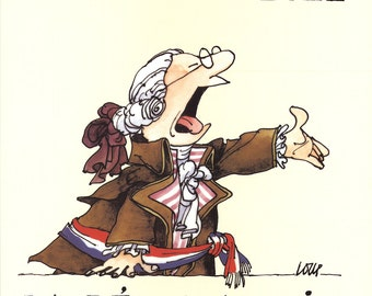Loup-Bicentenary of the French Revolution-1989 Poster