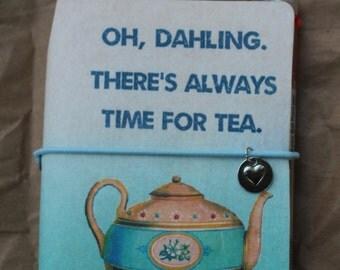 Tea Time Traveler's Notebook