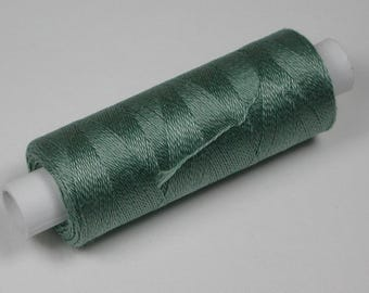 Jerry cotton, knitting and crochet yarn for the miniature handmade, colour jade # 5008