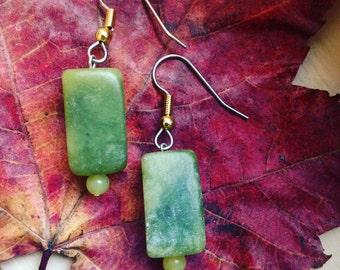 Sacred Jade Healing Earrings
