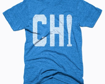 10% OFF SALE, Chicago Cubs Shirt - Chicago Baseball - Chicago Shirt - Men's Unisex Sizing - Vintage Print -