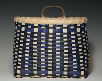 Pantry Basket in Blue and Green