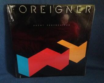 "SEALED, Vintage, Foreigner - ""Agent Provocateur"", Vinyl LP, Record Album, Original 1984 Press, Classic Rock, New Oldstock"