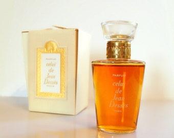 Vintage 1960s Celui by Jean Desses 1 oz Pure Parfum with Box DISCONTINUED PERFUME