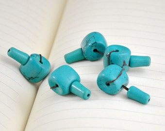 Superb Turquoise Beads 12mm Buddha Turquoise Beads 4 sets for Necklace and Bracelet