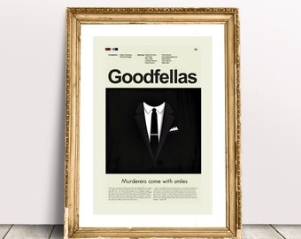 Goodfellas Mid-Century Modern Inspired Print