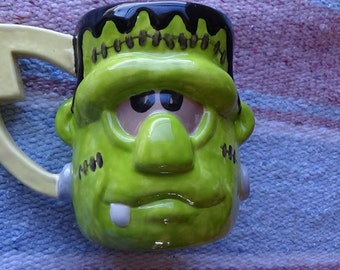 Frankenstein Monster Ceramic coffee mug