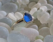 Size 8 Sea Glass Ring