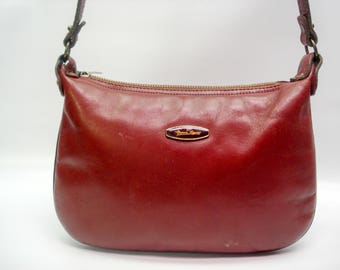 Everyday bag by Aigner - classic burgundy