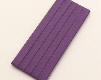 Cotton Candy Series Folded Cotton Bias in Purple - 3 Yards 92905