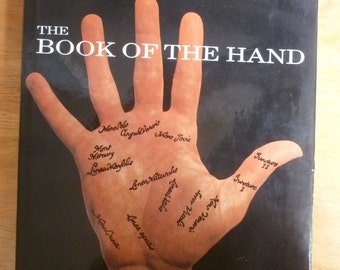 Palmistry Book of the Hand by Fred Gettings hard cover 1970