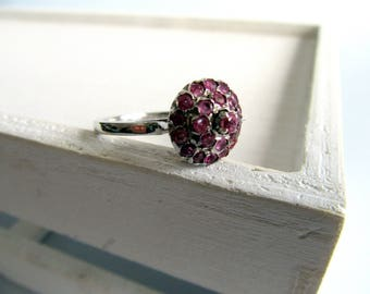 Rubi Ring from India. Delicate India Design.