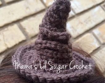 Sorting hat, MINI sorting hat, TINY sorting hat harry potter hat, novelty toy, hogwarts accessory, harry potter stocking stuffer