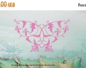3 Day SALE Sweetheart Fantasy Butterfly Vinyl Wall Graphics Decal LARGE 29W x 22h