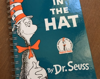The Cat in the Hat Dr. Seuss Recycled Journal