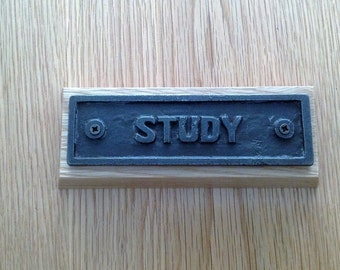 Study Plaque
