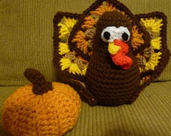 Handmade Turkey Centerpiece