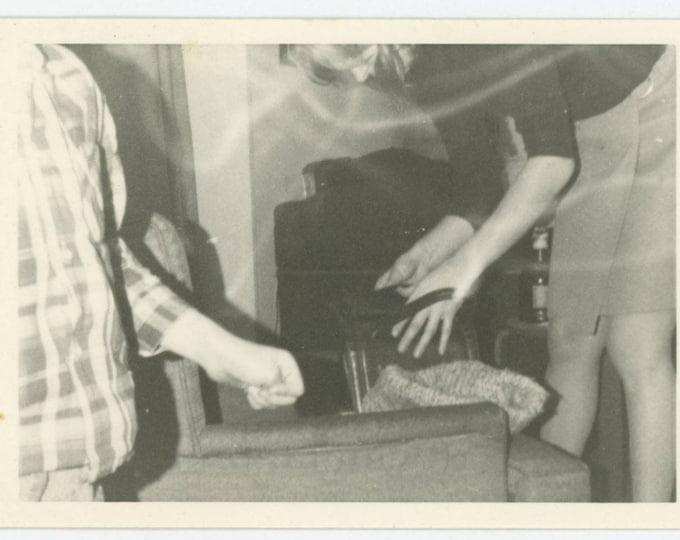 Vintage Snapshot Photo: Purse, 1968 (75575)