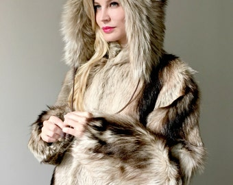 Vintage Goat Fur Coat