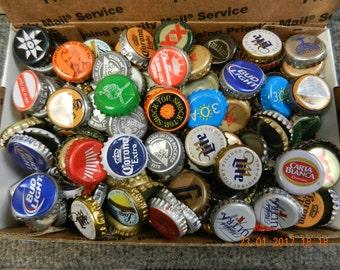 Bottle Caps 1 pound of caps approximately 215
