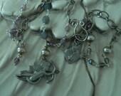 Cherub Necklace Assemblage by 58diamond