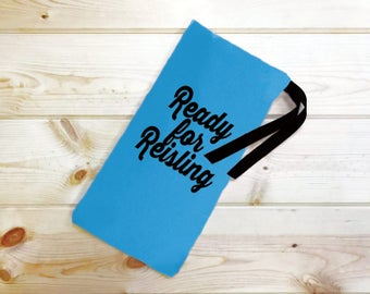 Ready For Reisling Wine Bag // Party Gift // Housewarming