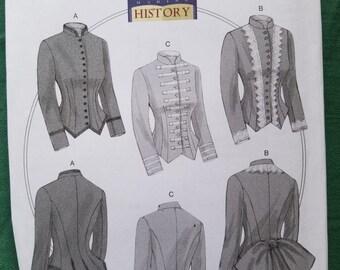 Butterick 6400: Women's Fitted, underlined, boned jacket