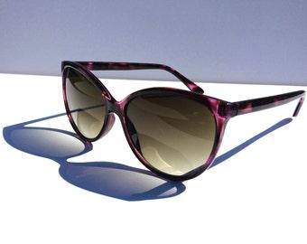 Vintage Cat Eye Sunglasses, Purple Sunglasses, Deadstock Cateyes, Cat Eye Glasses, Laura Palmer, Twin Peaks, Womens Sunglasses