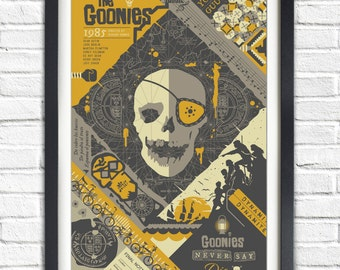 The Goonies - 1985 - 19x13 Poster