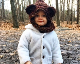 Animal hoods for babies /Baby accessories / Baby Hats / Photo props for babies / Baby gifts / Winter hats for kids / animal costumes