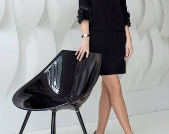 Stylish Black Jersey Dress Just For You