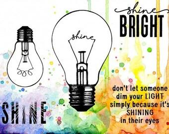 Shining Bright, Visible Image