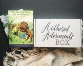 Authored Adornments Box, December Subscription Box, Mystery Box