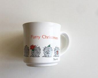 Classic Sandra Boynton Furry Christmas Mug