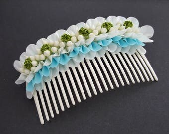 Thai Handmade Flower Comb