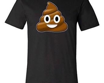 Smiling Poop Emoji T-shirt | Pile of Poo Tee