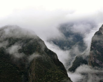 Clouded Mountains of Peru