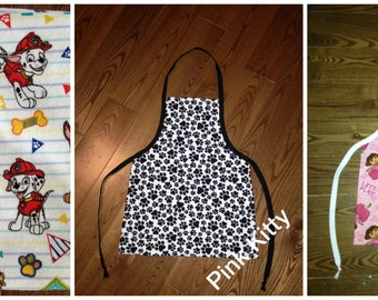 Toddler apron - you choose print